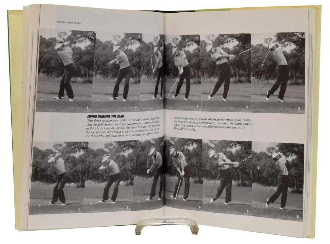 (5) SIGNED (KITE, CRENSHAW) COACH HANNON GOLF BOOK - 3