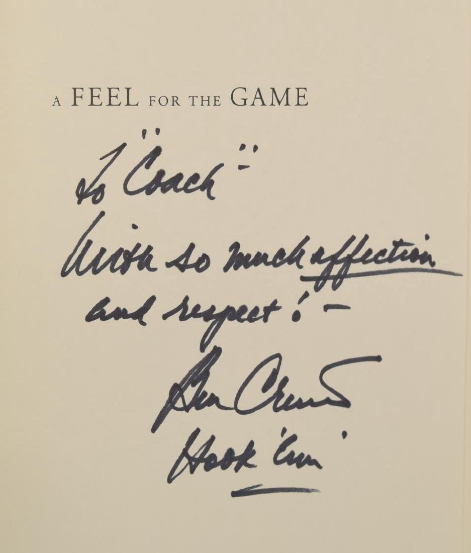 (5) SIGNED (KITE, CRENSHAW) COACH HANNON GOLF BOOK - 6