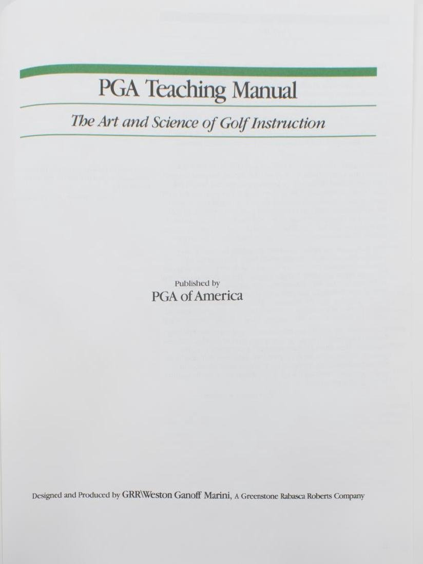(25) GOLF RELATED BOOKS, UNIVERSITY OF TEXAS COACH - 7