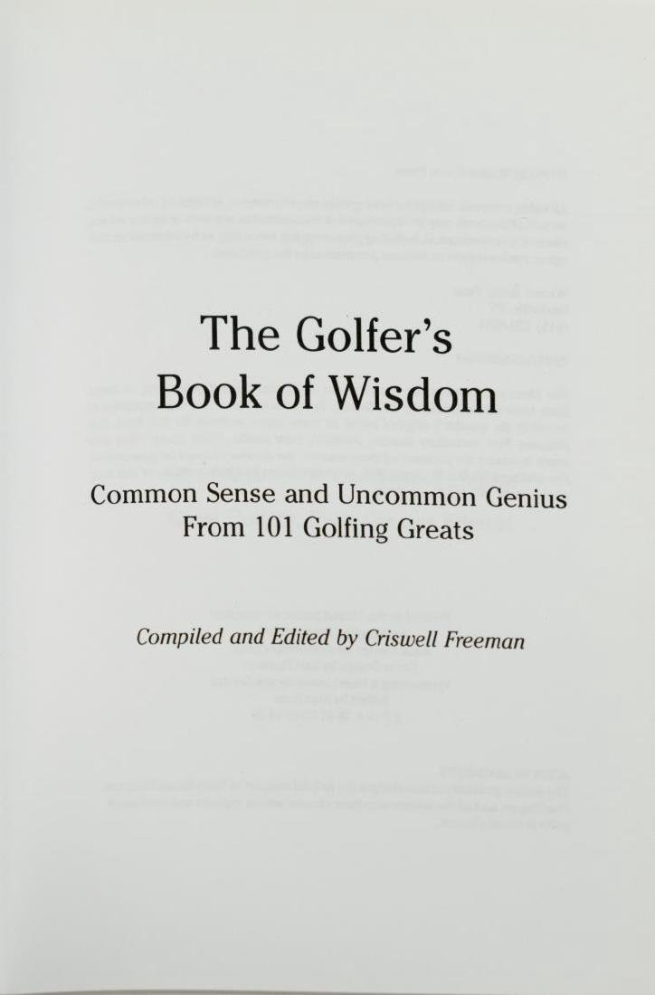 (28) COLLECTION OF GOLF RELATED BOOKS - 5