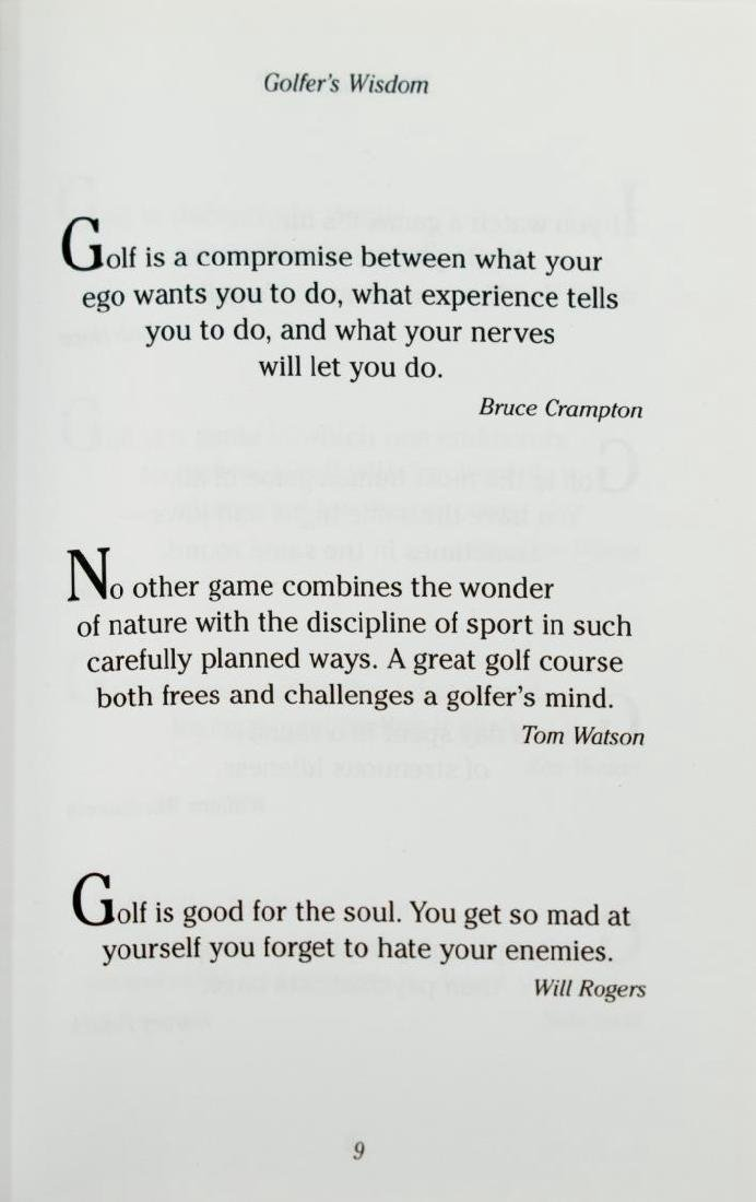 (28) COLLECTION OF GOLF RELATED BOOKS - 6