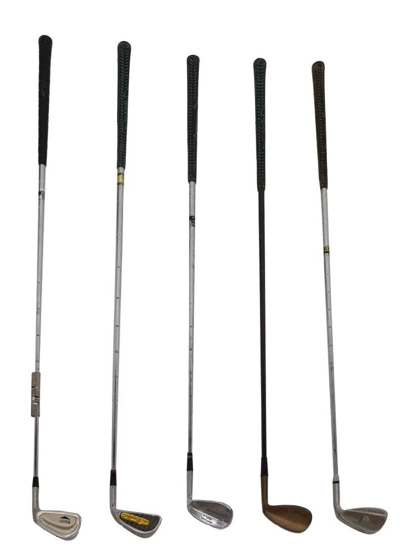 (APPRX. 175) ASSORTED GOLF CLUB IRONS & DRIVERS - 2