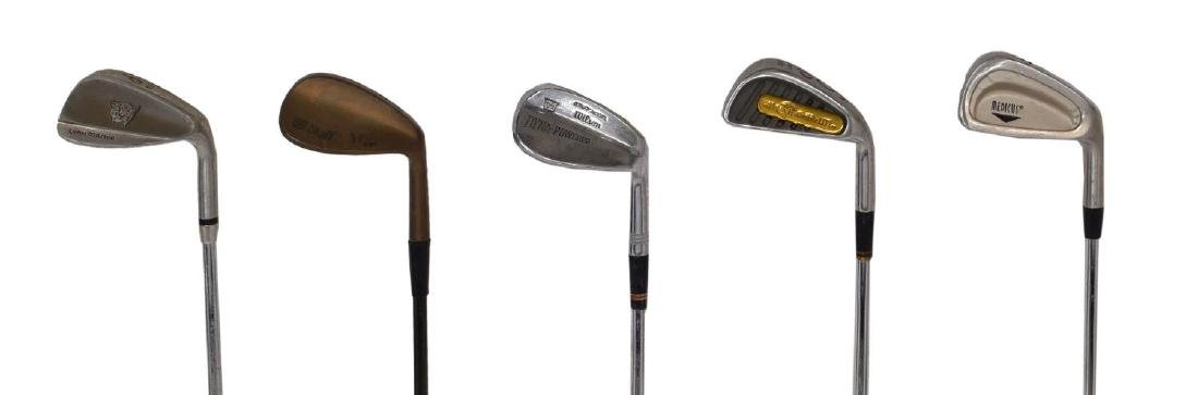 (APPRX. 175) ASSORTED GOLF CLUB IRONS & DRIVERS - 3