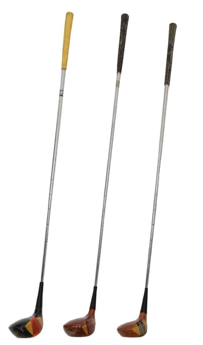 (APPRX. 175) ASSORTED GOLF CLUB IRONS & DRIVERS - 4