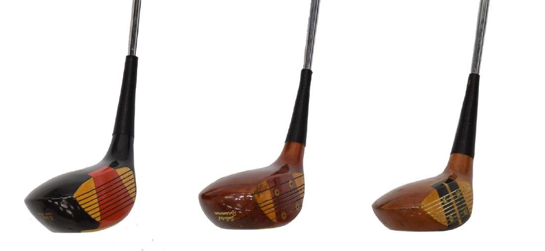 (APPRX. 175) ASSORTED GOLF CLUB IRONS & DRIVERS - 5