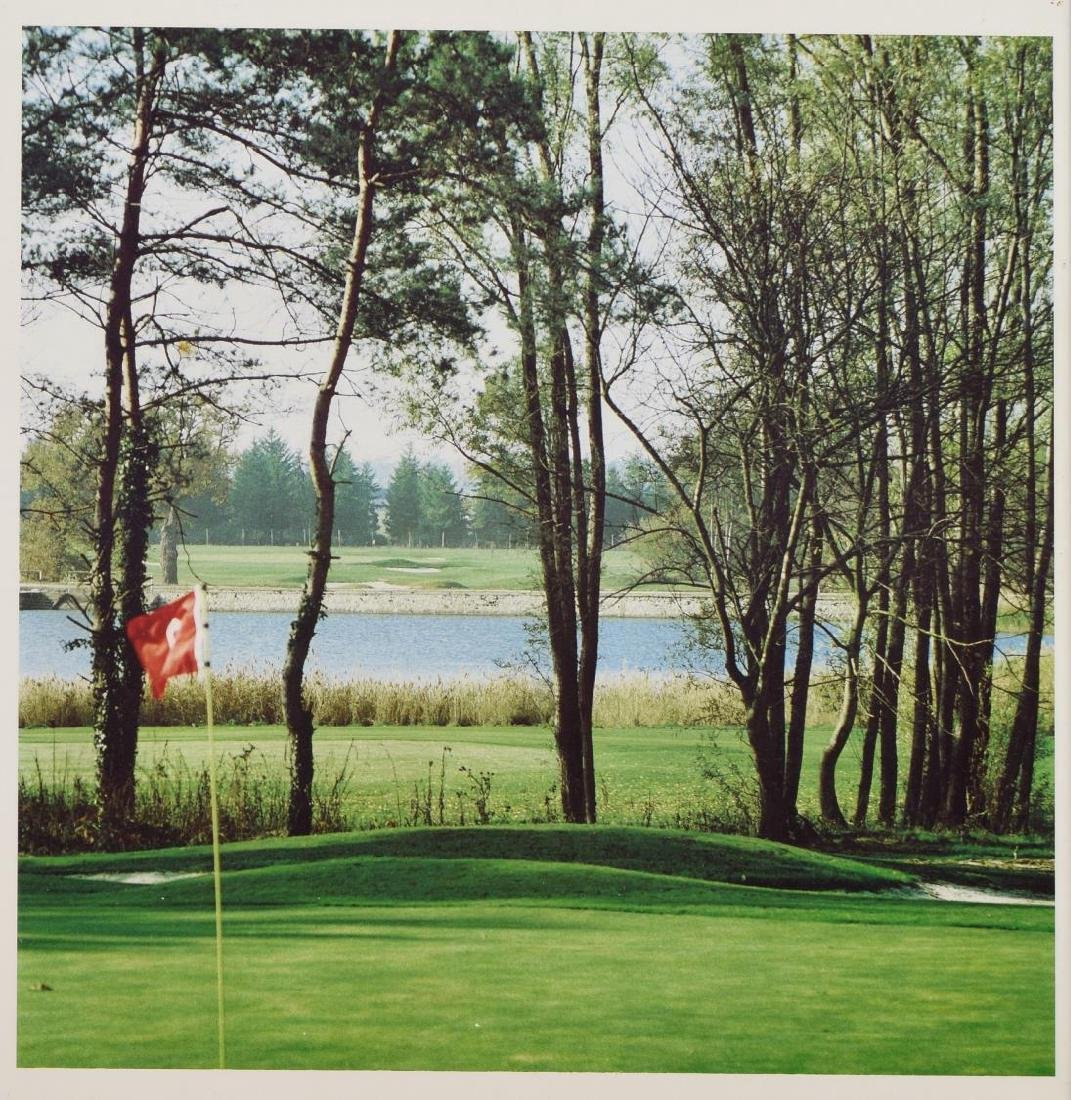 (3) GROUP OF FRAMED WALL ART WITH GOLF SUBJECTS - 2