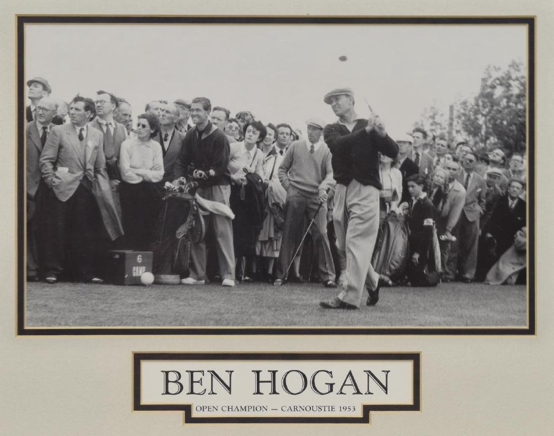 (3) GROUP OF FRAMED WALL ART WITH GOLF SUBJECTS - 4