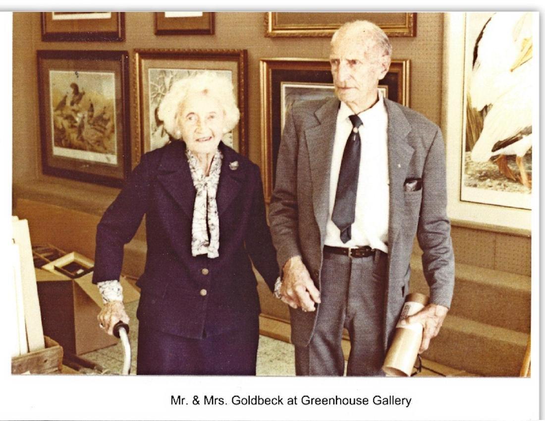 E.O. GOLDBECK (1892-1986), SIGNED ALAMO PHOTOGRAPH - 8