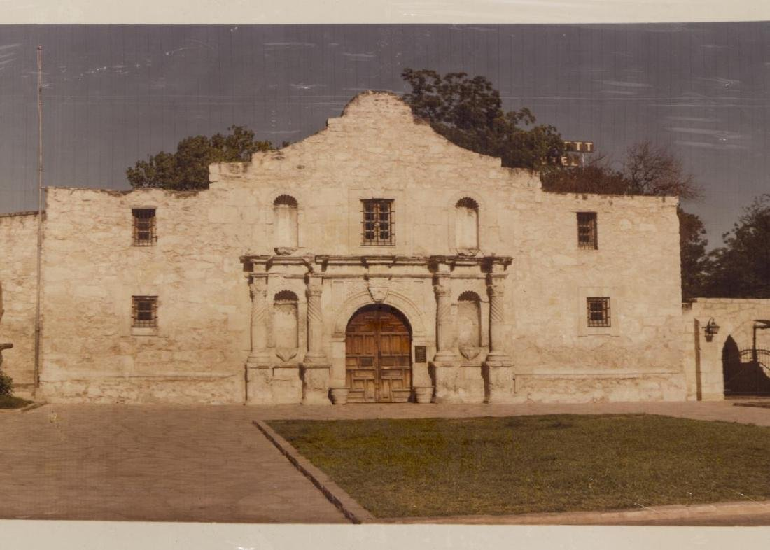 (3)E.O GOLDBECK(1892-1986) SIGNED 1918 ALAMO PLAZA - 7