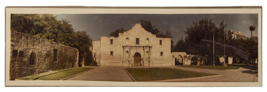 (3)E.O GOLDBECK(1892-1986) SIGNED 1918 ALAMO PLAZA - 8