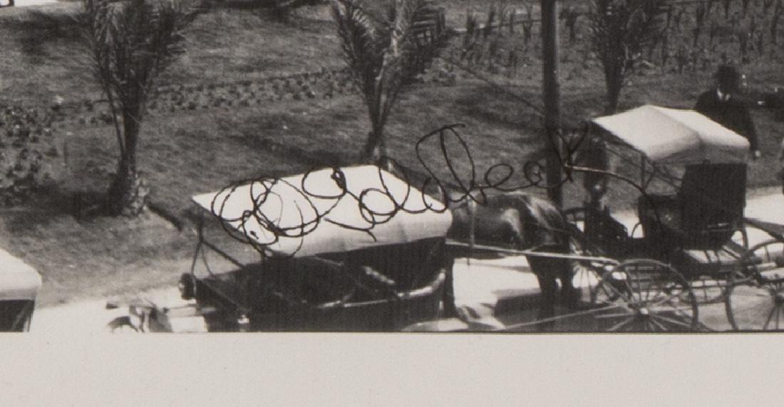 E.O. GOLDBECK (1892-1986), SIGNED ALAMO PHOTOGRAPH - 3