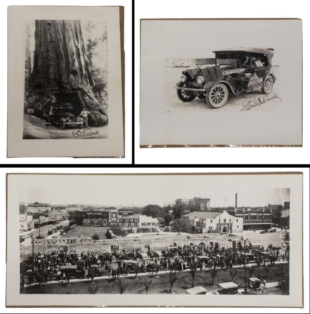 (3) E.O. GOLDBECK (1892-1986), ALAMO, STUDIO CAR