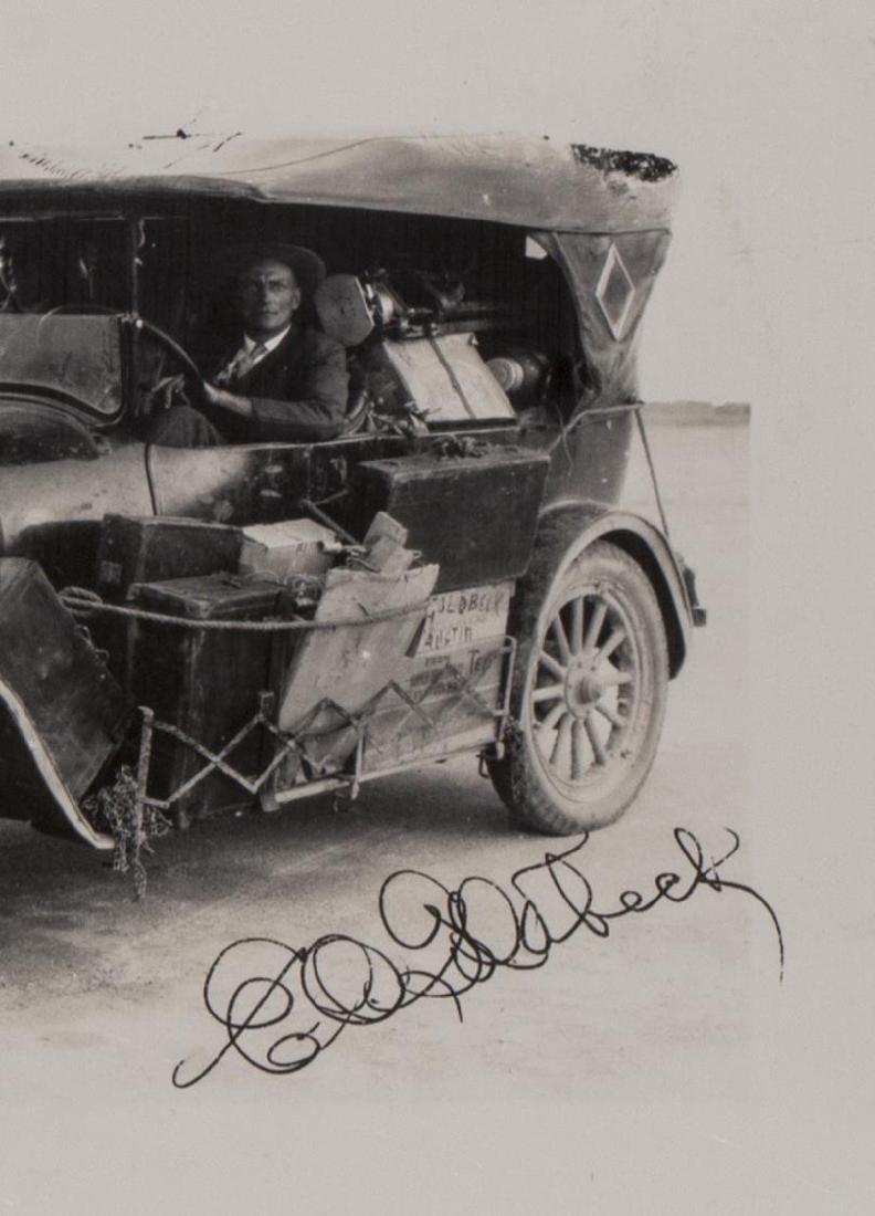 (3) E.O. GOLDBECK (1892-1986), ALAMO, STUDIO CAR - 7