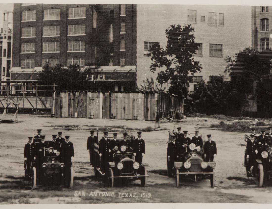 E.O. GOLDBECK (1892-1986) SAN ANTONIO FIRE, 1919 - 2