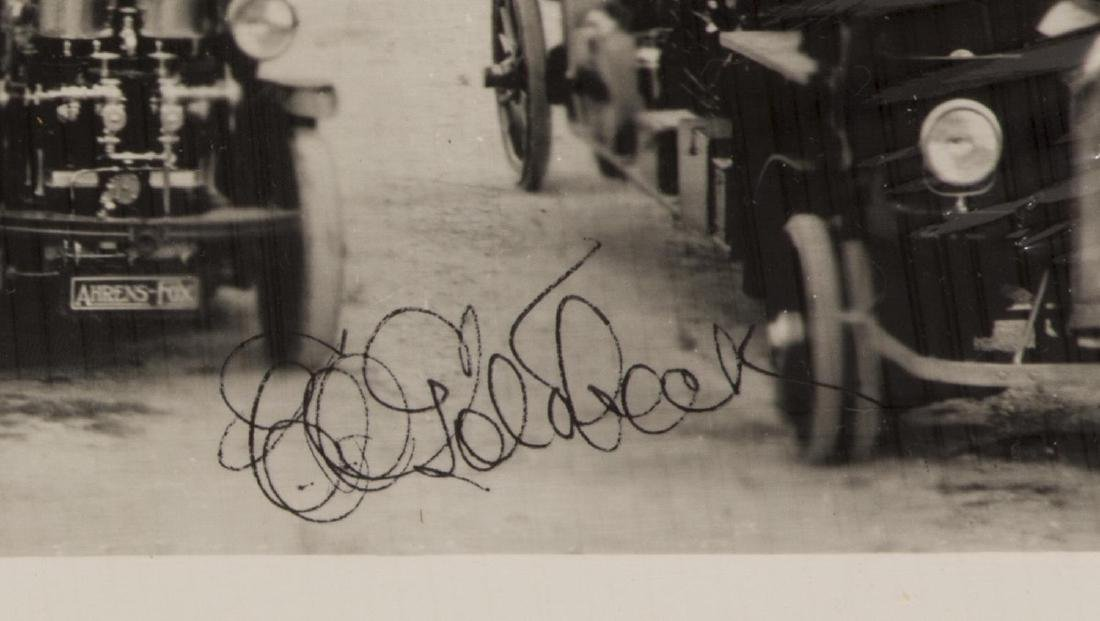 E.O. GOLDBECK (1892-1986) SAN ANTONIO FIRE, 1919 - 3