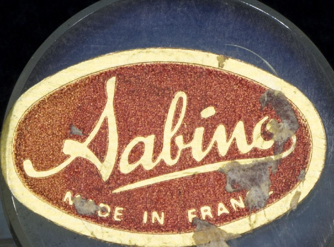 (6) SABINO ART GLASS PUTTI, BUTTERFLIES, DOG & CAT - 5