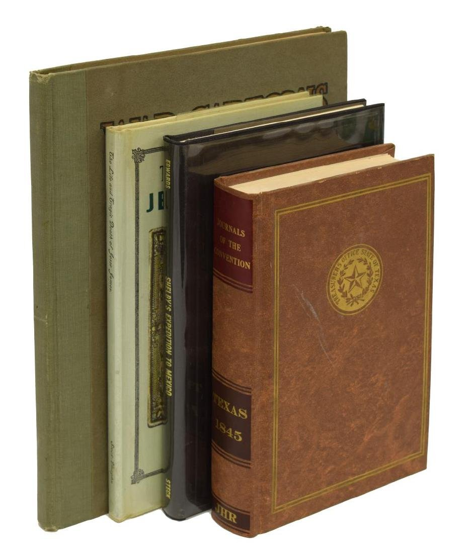 (4) GROUP HARDCOVER BOOKS WITH HISTORICAL SUBJECTS