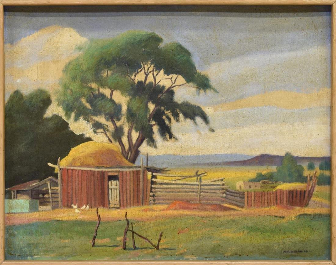 PAUL E. BARR (1892-1953)RANCH AT TALPA, NEW MEXICO
