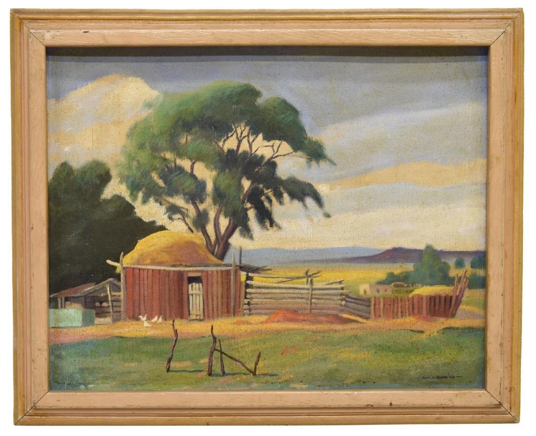 PAUL E. BARR (1892-1953)RANCH AT TALPA, NEW MEXICO - 2