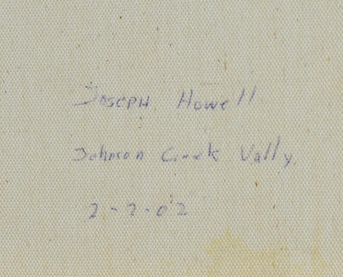 FRAMED PAINTING, JOHNSON CREEK VALLEY, OREGON - 5