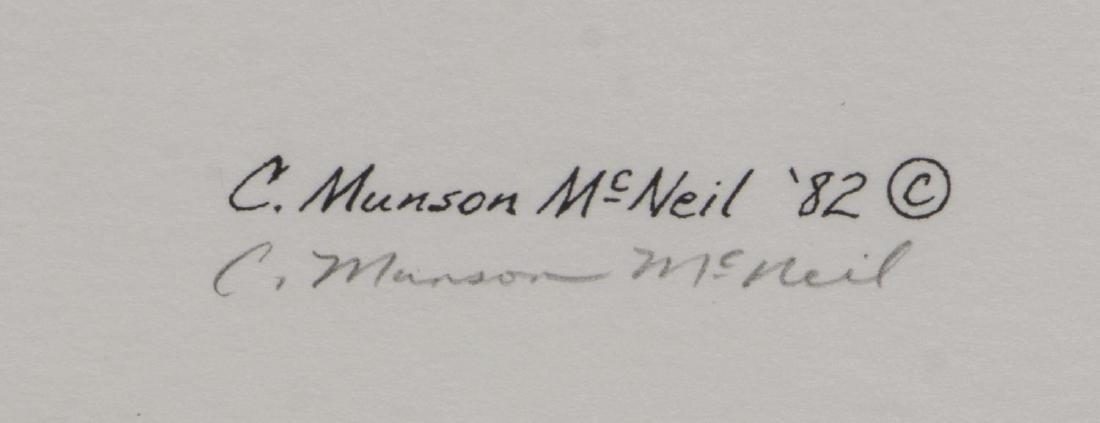 CATHY MUNSON MCNIEL, TEXAS LONGHORN PRINTS SIGNED - 3