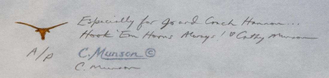 CATHY MUNSON MCNIEL, TEXAS LONGHORN PRINTS SIGNED - 6