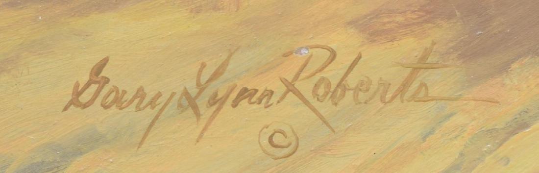 GARY LYNN ROBERTS(B. 1953)WESTERN. AFTERNOON STAGE - 4