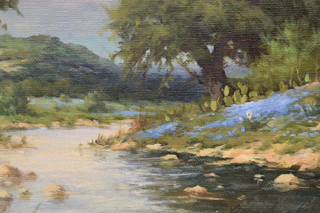 GARY LYNN ROBERTS (B. 1953) TEXAS HILL COUNTRY - 3