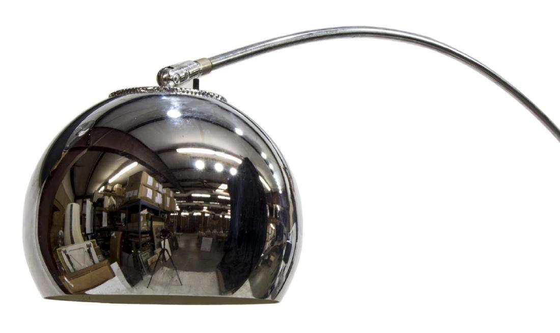ITALIAN MODERN STAINLESS FLOOR LAMP