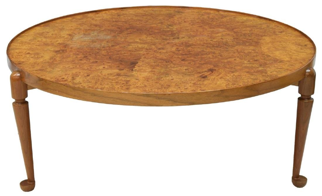 JOSEF FRANK BURLWOOD CIRCULAR COFFEE TABLE - 2