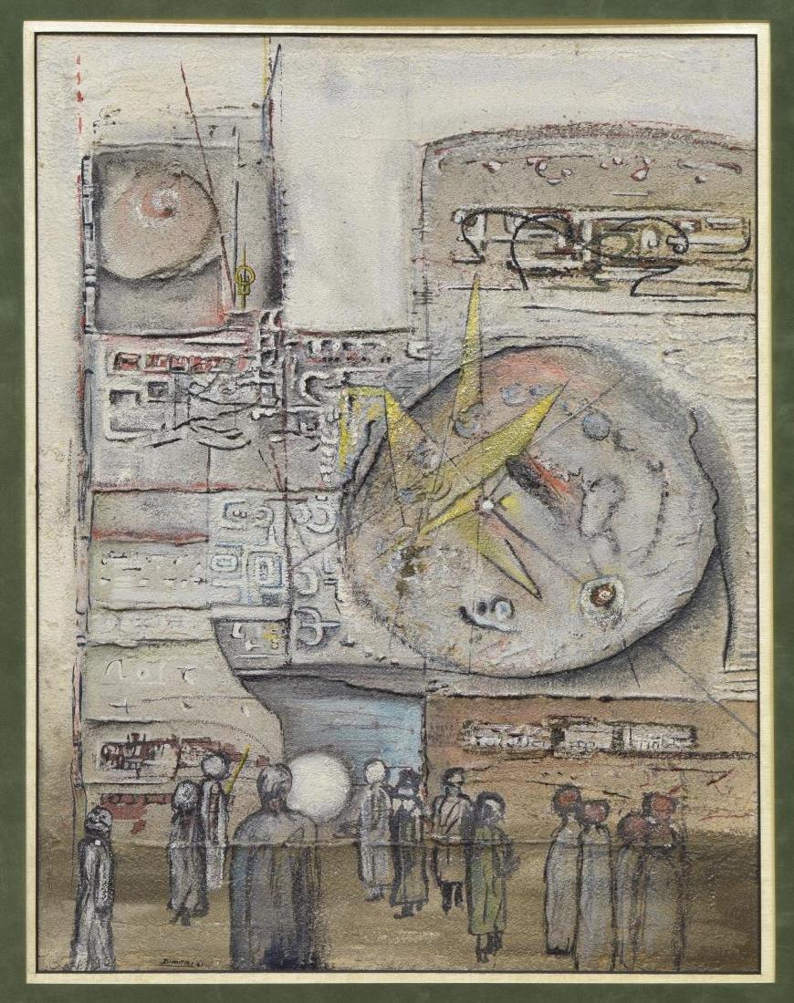 ROY DIMITRI PARSONS (1926-2007) FRAMED PAINTING