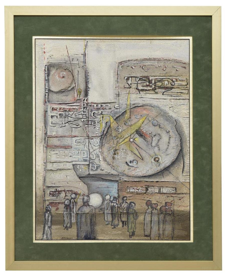 ROY DIMITRI PARSONS (1926-2007) FRAMED PAINTING - 2