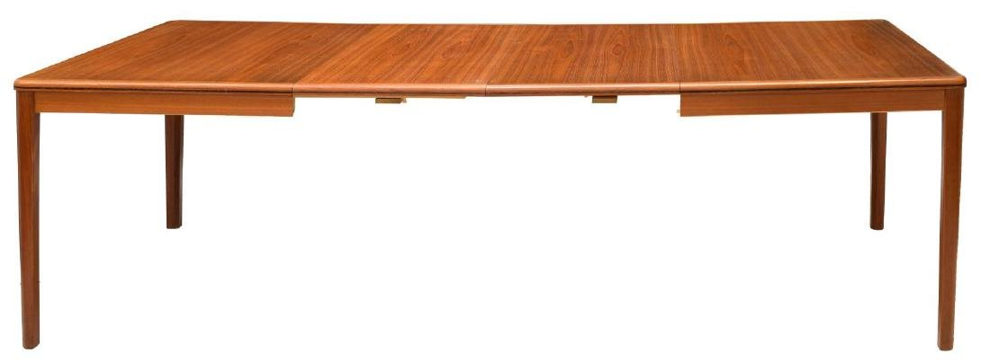 DANISH MID-CENTURY MODERN TEAK EXTENSION TABLE - 3