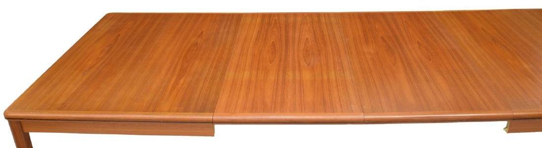 DANISH MID-CENTURY MODERN TEAK EXTENSION TABLE - 5