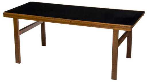 Danish Mid Century Modern Laminate Coffee Table