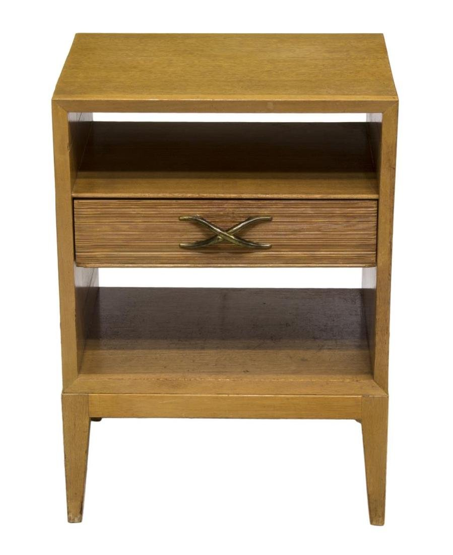 PAUL FRANKL (1886-1958) BROWN SALTMAN NIGHTSTAND - 2