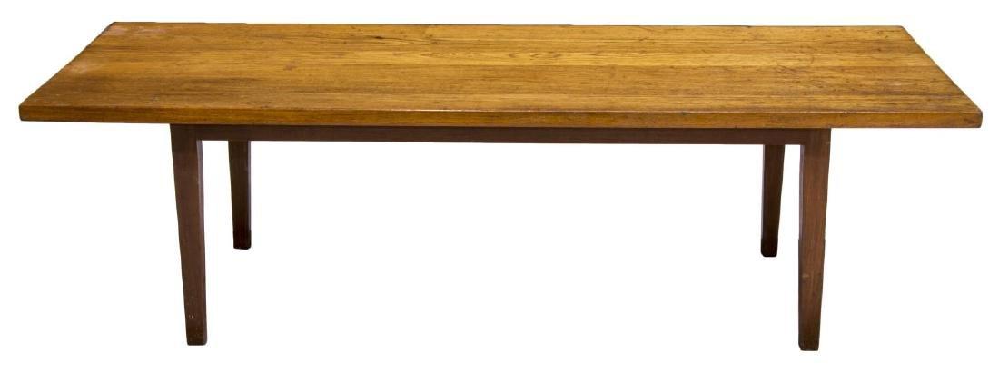 DANISH MID-CENTURY MODERN TEAK COFFEE TABLE - 2