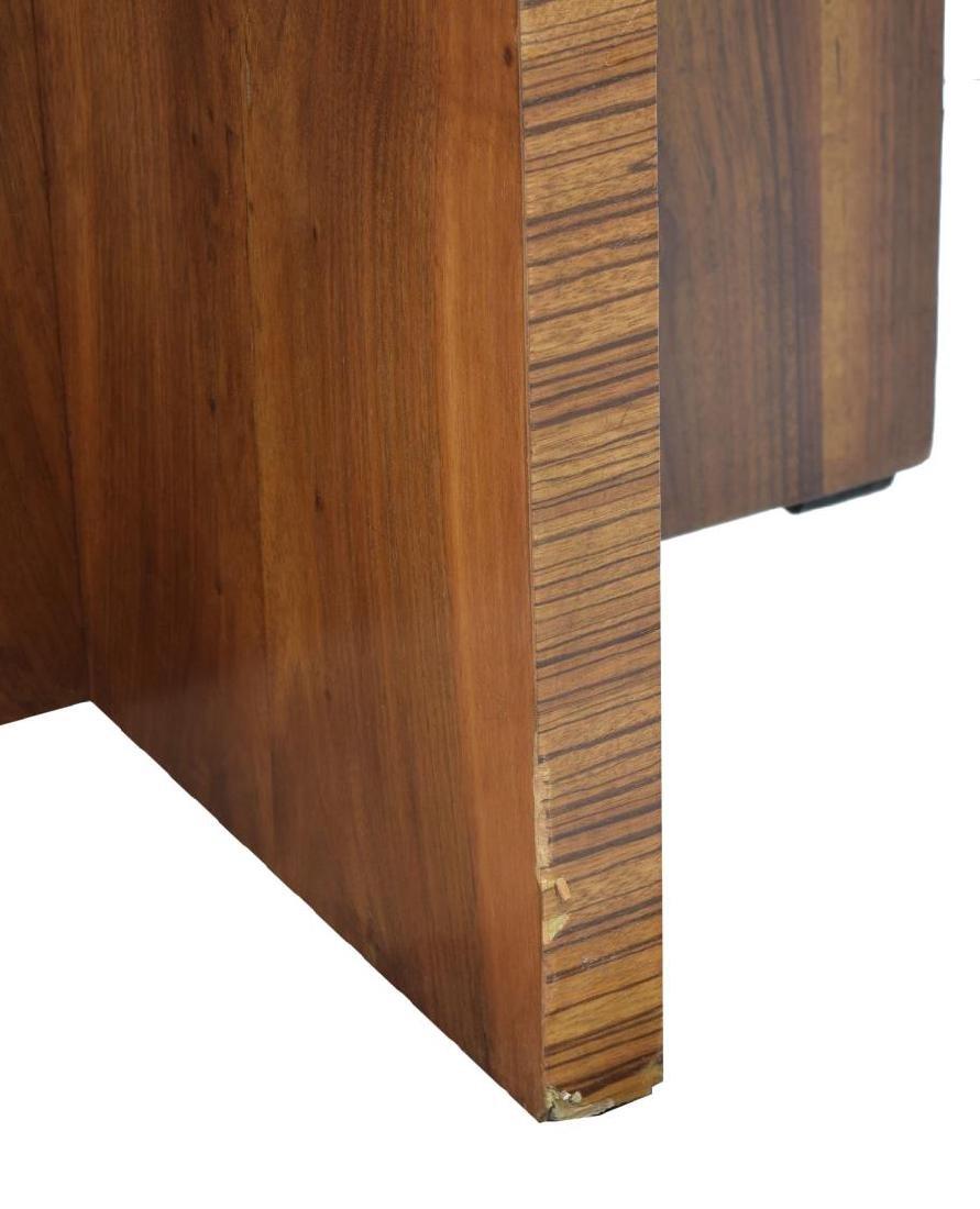 FRENCH ART DECO BURLWOOD VENEER SIDE TABLE - 3