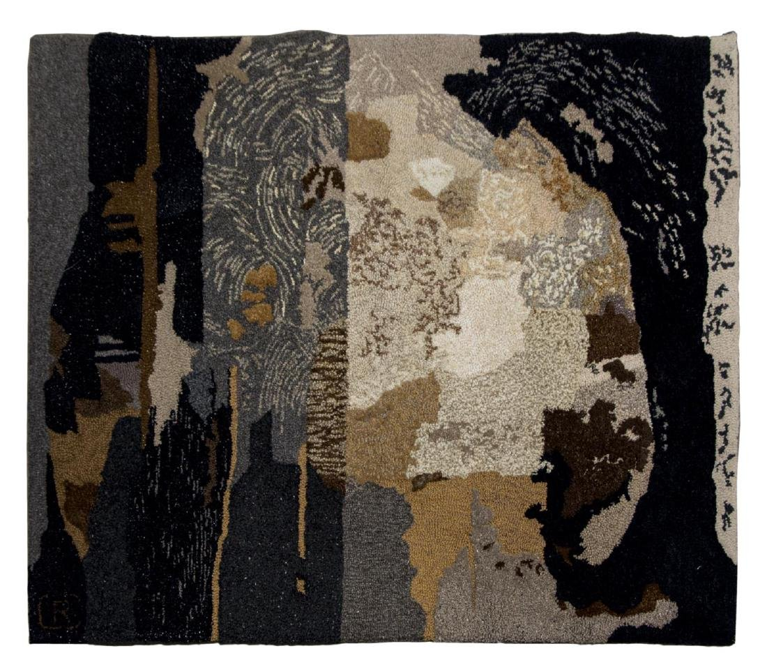 ROBERT CRANFORD (1933-2013) HAND-TUFTED TAPESTRY