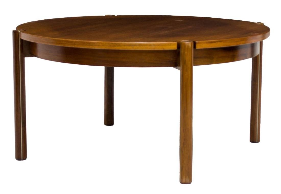 DANISH MID-CENTURY MODERN ROSEWOOD COFFEE TABLE - 2