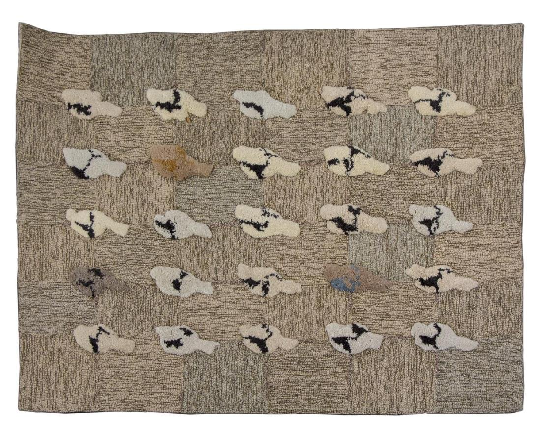 ATTRIB. ROBERT CRANFORD (1933-2013) WOVEN TAPESTRY