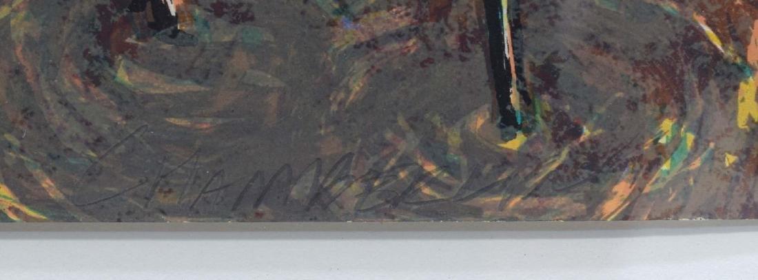 ANN CHAMBERLAIN (1951-2008) ATTRIB. WOODCUT PRINT - 5