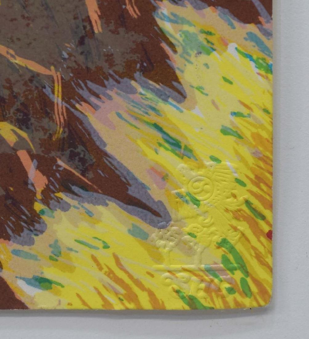 ANN CHAMBERLAIN (1951-2008) ATTRIB. WOODCUT PRINT - 6