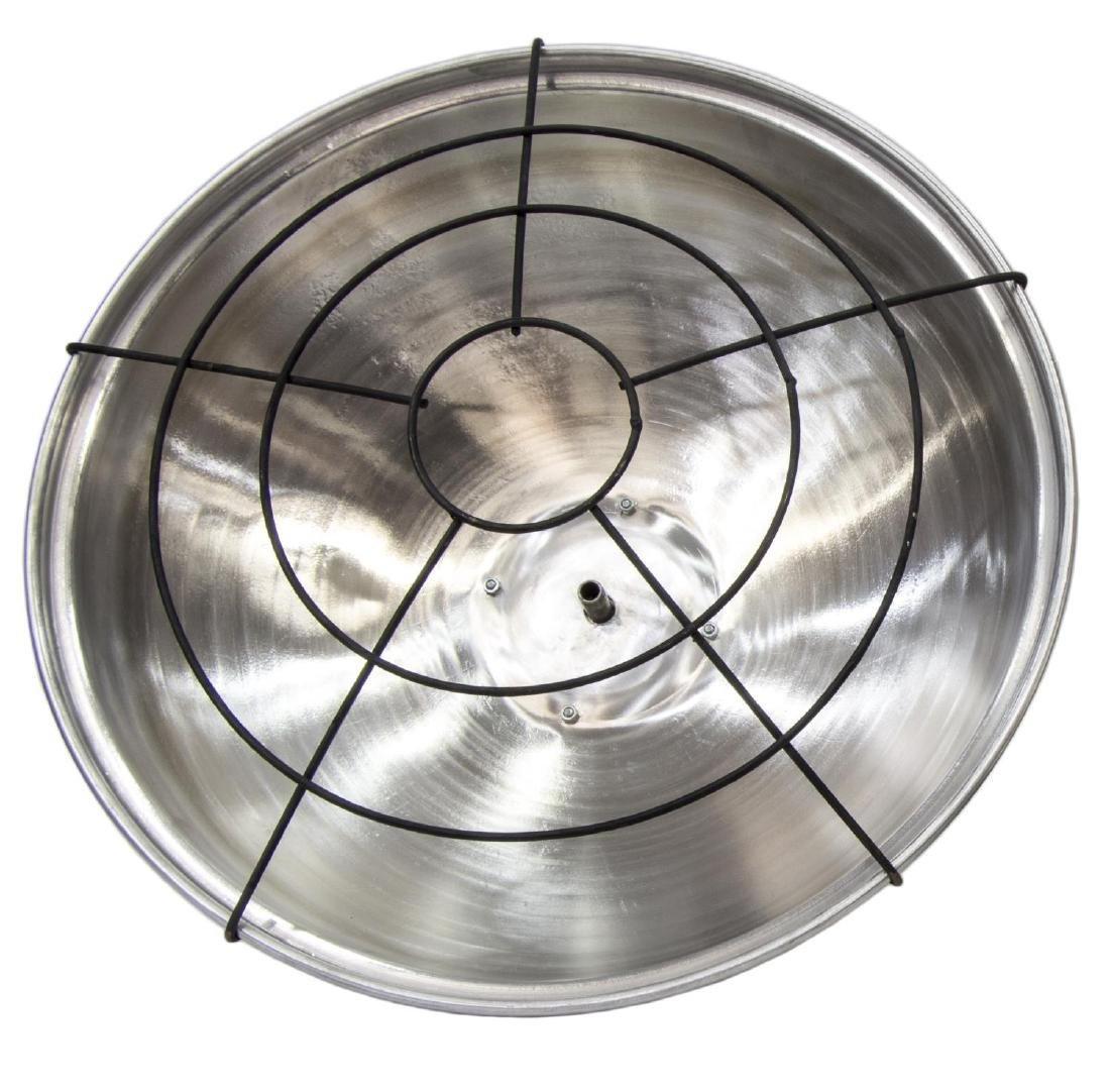 (3)GERMAN INDUSTRIAL STYLE ALUMINUM HANGING LIGHTS - 3