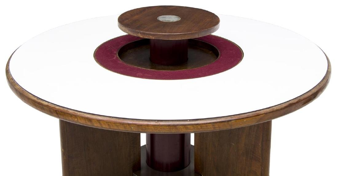 ITALIAN MID-CENTURY CIRCULAR LAZY SUSAN TABLE - 3