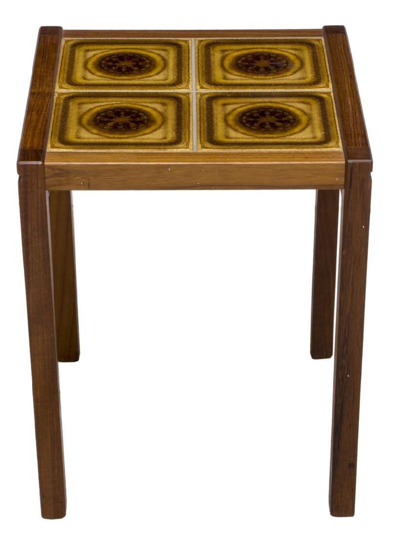 (2) DANISH MID-CENTURY FLOOR LAMP & TILE TABLE - 3