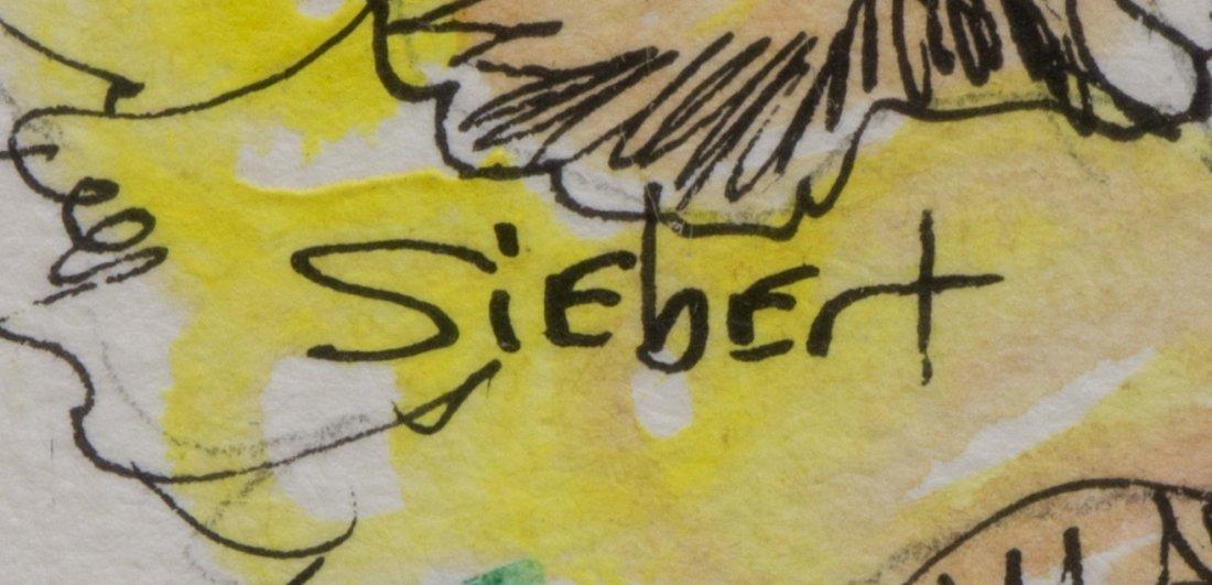BONNIE SIEBERT (TEXAS) WATERCOLOR & PAINTING - 4