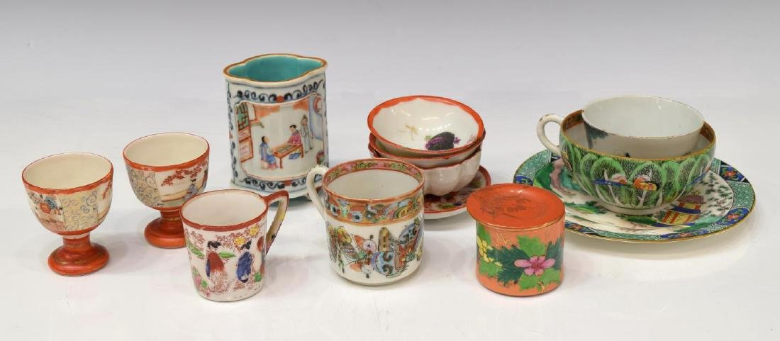 (23) COLLECTION OF ASIAN PORCELAINS & STANDS - 6
