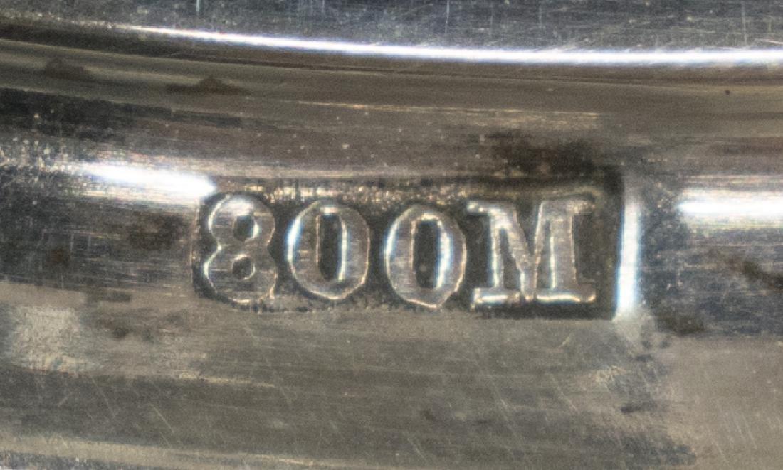 GERMAN 800 SILVER PRESENTATION GRAPE VINE POKAL - 6