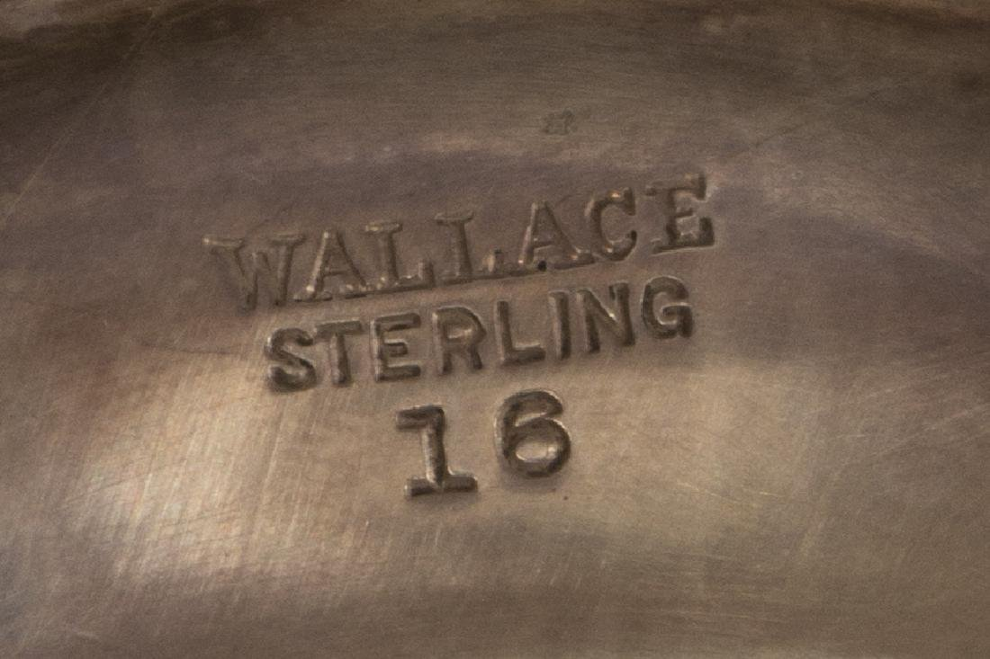 (5) WALLACE STERLING SILVER MONOGRAMMED GOBLETS - 3